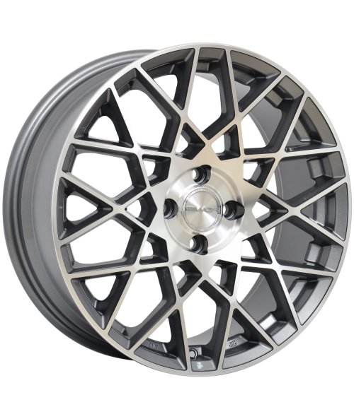 PDW VELOCITY 16X7 5X114.3 SILVER MACHINED FACE