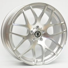 AFTERMARKET REPLICA WHEELS AG-01 19x8.5 5x112 SILVER MACHINED