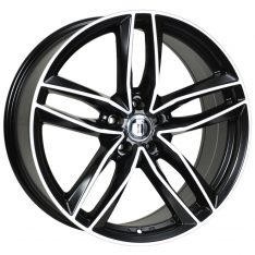 AFTERMARKET REPLICA WHEELS BLADE 20x9 5X130 SATIN BLACK MACHINED