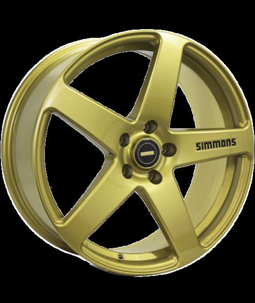 SIMMONS FRC 20X8.5 5X112 GOLD