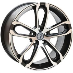 AFTERMARKET REPLICA WHEELS AUDI AB-T 18X8 5x112 SATIN BLACK/MACHINED FACE