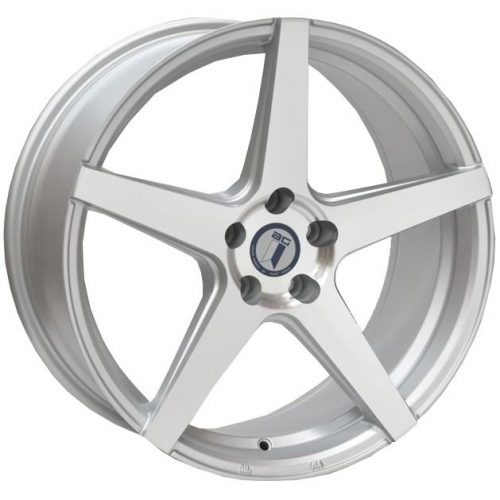 AFTERMARKET REPLICA WHEELS MERCEDES AZIO 20X9.5 5x112 SATIN SILVER