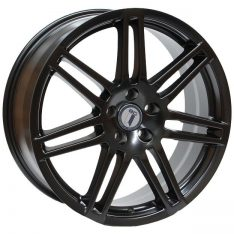 AFTERMARKET REPLICA WHEELS AUDI RS4 18X8 5x112 SATIN BLACK