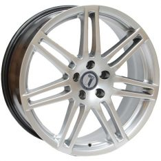 AFTERMARKET REPLICA WHEELS AUDI RS4 19X8 5X112 HYPER SILVER