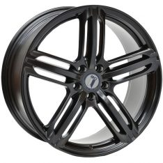 AFTERMARKET REPLICA WHEELS PORSCHE RS6 20X9 5X130 SATIN BLACK