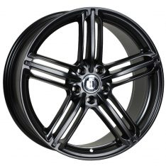 AFTERMARKET REPLICA WHEELS AUDI RS6 20X9 5x112 SATIN BLACK