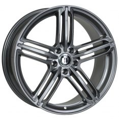 AFTERMARKET REPLICA WHEELS AUDI RS6 20X9 5x130 TITANIUM GREY