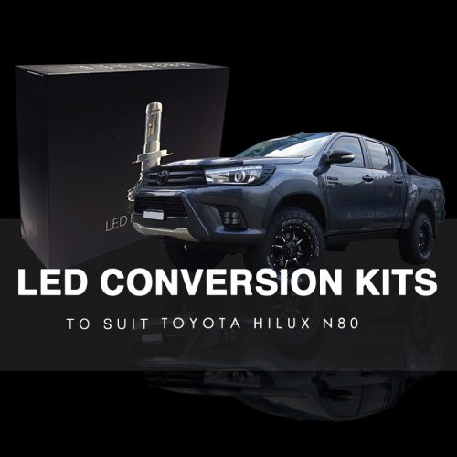 LED Conversion Kit to suit Toyota Hilux N80 SR5 / Rogue (2015-2019)