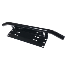 Black Number Plate Registration Bracket
