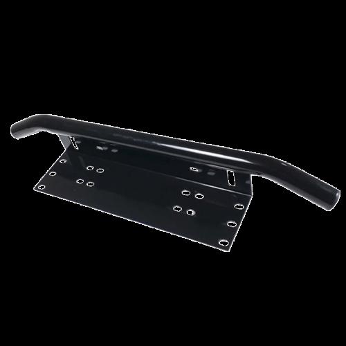 Black Number Plate Registration Bracket