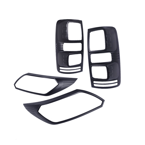 Black Headlight & Tail Light Trims to suit Holden Colorado RG (Facelift 2016)