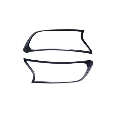 Black Headlight Trims to suit Ford Ranger PX & Everest