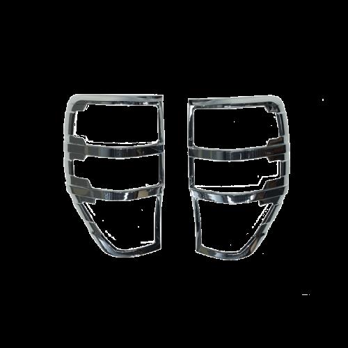 Ford-Ranger-PX-2012-2015-Silver-Tail-Light-Trim