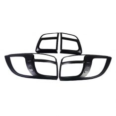 Black Tail Light Trims to suit Holden Colorado 7 SUV