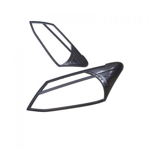 Black Headlight Trims to suit Isuzu Dmax 2012-15