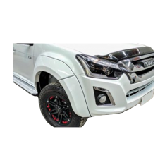 EGR Smooth Style Flares to suit Isuzu Dmax 2017+ (Facelift)