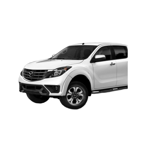 EGR Smooth Style Flares to suit Mazda BT50 2018+