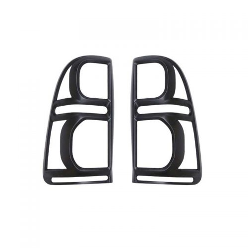Black Tail Light Trims to suit Toyota Hilux N70