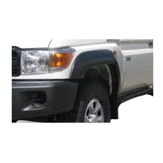 EGR Black Smooth Flares to suit Toyota Landcruiser 70 Series