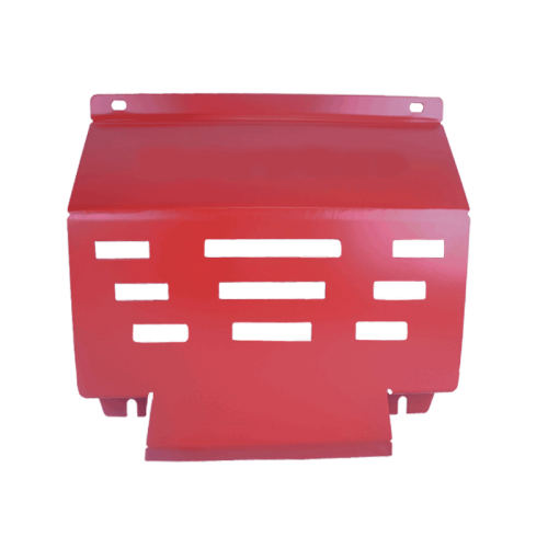 Red Underbody Bash Plate to suit Mitsubishi Triton MQ