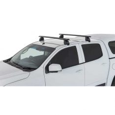 Black Vortex 2500 Roof Racks to suit Holden Colorado RG