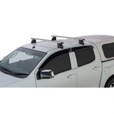 Silver Vortex 2500 Roof Racks to suit Isuzu Dmax