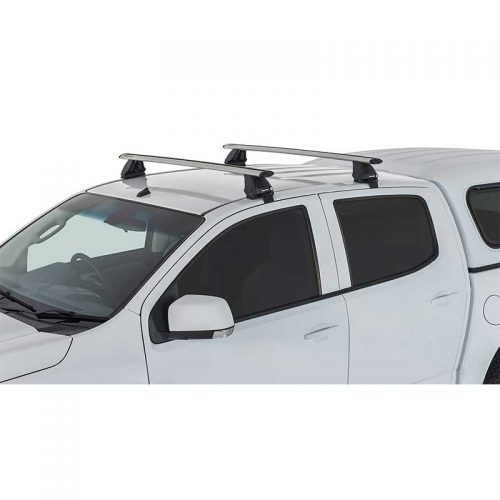 Silver Vortex 2500 Roof Racks to suit Holden Colorado RG