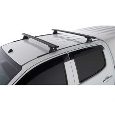 Black Vortex RLT600 Trackmount Roof Racks to suit Isuzu Dmax