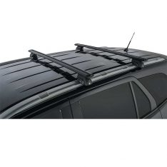 Black Vortex SX Roof Racks to suit Ford Everest