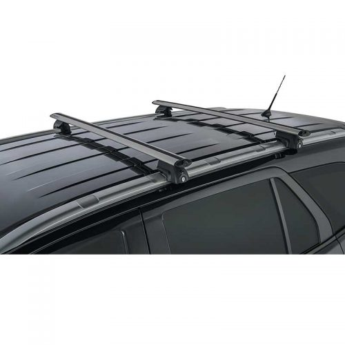 Silver Vortex SX Roof Racks to suit Ford Everest