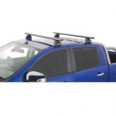 Vortex 2500 Black Roof Racks to suit Ford Ranger XL