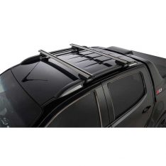 Silver Vortex SX Roof Racks to suit Holden Colorado Z71