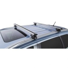 Silver Vortex SX Roof Racks to suit Mitsubishi Outlander