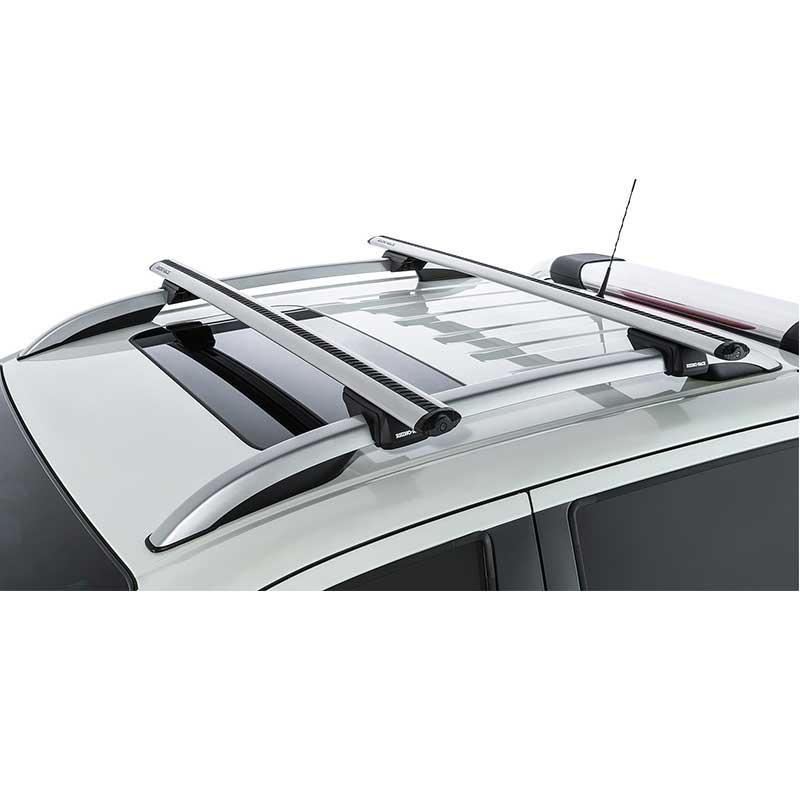 Silver Rhino Roof Racks Vortex Sx To Suit Nissan Navara