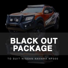 Black Out Package with Grille to suit Nissan Navara NP300 D23 (2015-2019)