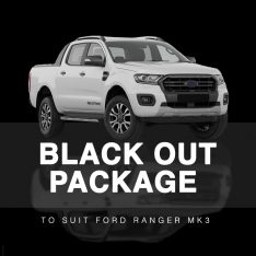 Black Out Package to suit Ford Ranger MK3 (2018-2019)