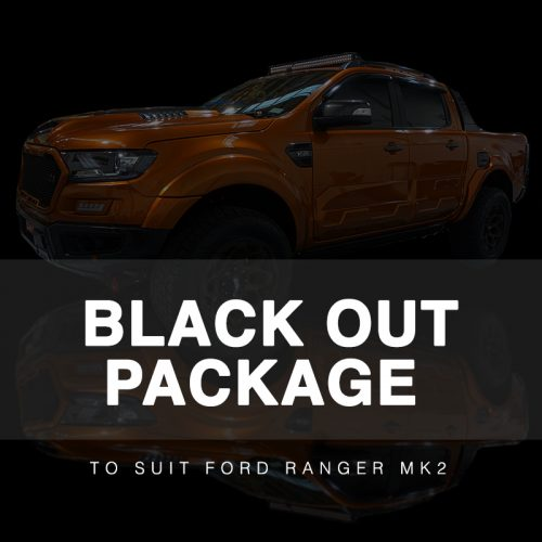 Black Out Package to suit Ford Ranger MK2 (2015-2018)
