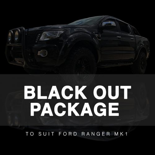 Black Out Package to suit Ford Ranger MK1 (2012-2015)