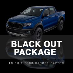 Black Out Package to suit Ford Ranger Raptor (2018-2019)