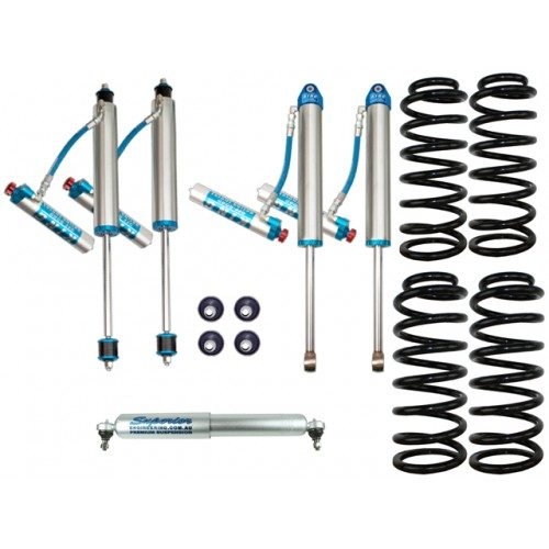 King Shocks 2.5 OEM Performance Series 2 Inch Lift Kit Suitable For Nissan Patrol GU 98-99 Wagon/98 on Ute