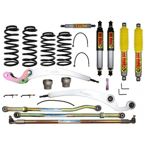 Superflex 3 Inch Lift Kit Suitable For Nissan Patrol GQ with Tough Dog Shocks